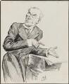 Augustine Birrell, by Harry Furniss - NPG 3343