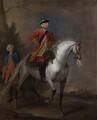 Thomas Bloodworth; Frederick Lewis, Prince of Wales, by Bartholomew Dandridge - NPG 1164