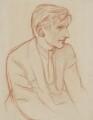 Edmund Blunden, by Sir William Rothenstein - NPG 4977