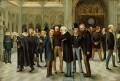 The Lobby of the House of Commons, 1886, by Liborio Prosperi ('Lib') - NPG 5256