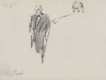 Charles Bradlaugh, by Sydney Prior Hall - NPG 2313