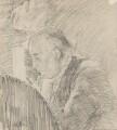 Charles Bradlaugh, by Walter Richard Sickert - NPG 2206