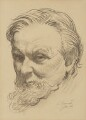 Sir Frank Brangwyn, by Louis Ginnett - NPG 5194