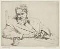 Sir Frank Brangwyn, by Arthur Henry Knighton-Hammond - NPG 4373