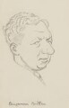 Benjamin Britten, by Sir David Low - NPG 4529(62)