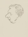 Benjamin Britten, by Sir David Low - NPG 4529(60)