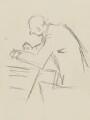 Benjamin Britten, by Sir David Low - NPG 4529(61)