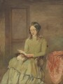 Unknown woman, formerly known as Charlotte Brontë, by Unknown artist - NPG 1444