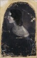 Emily Brontë, by Patrick Branwell Brontë - NPG 1724