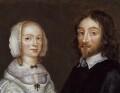 Dorothy, Lady Browne (née Mileham); Sir Thomas Browne, attributed to Joan Carlile - NPG 2062
