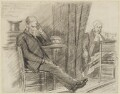 James Bryce, 1st Viscount Bryce; Sir John Charles Frederick Sigismund Day, by Sydney Prior Hall - NPG 2249