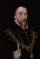 William Cecil, 1st Baron Burghley, by Unknown artist - NPG 604