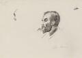 John Elliott Burns, by Sydney Prior Hall - NPG 2290