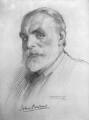 John Elliott Burns, by Harold Speed - NPG 5124