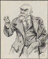 John Elliott Burns, by Harry Furniss - NPG 3346