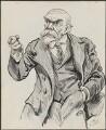 John Elliott Burns, by Harry Furniss - NPG 3346