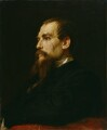 Sir Richard Francis Burton, by Frederic Leighton, Baron Leighton - NPG 1070
