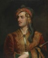 George Gordon Byron, 6th Baron Byron, replica by Thomas Phillips - NPG 142