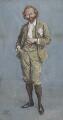 Sir (Thomas Henry) Hall Caine, by Sir (John) Bernard Partridge - NPG 3667
