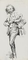 Sir (Thomas Henry) Hall Caine, by Harry Furniss - NPG 3434