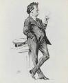 Dion Clayton Calthrop, by Harry Furniss - NPG 3437