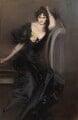 Gertrude Elizabeth (née Blood), Lady Colin Campbell, by Giovanni Boldini - NPG 1630