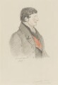 Charles Manners Sutton, 1st Viscount Canterbury, by Alfred, Count D'Orsay - NPG 4026(11)