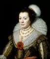Anne, Lady Carleton, studio of Michiel Jansz. van Miereveldt - NPG 111