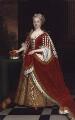 Caroline Wilhelmina of Brandenburg-Ansbach, after Sir Godfrey Kneller, Bt - NPG 529