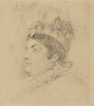 Caroline Amelia Elizabeth of Brunswick, by Sir George Hayter - NPG 1695(b)