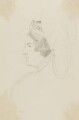 Caroline Amelia Elizabeth of Brunswick, by Sir George Hayter - NPG 2662(3)