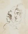 Caroline Amelia Elizabeth of Brunswick, by Sir George Hayter - NPG 2662(8)