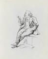 Joseph William Comyns Carr, by Harry Furniss - NPG 3438