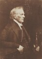 Thomas Chalmers, by David Octavius Hill, and  Robert Adamson - NPG P6(5)