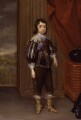King Charles II, by Cornelius Johnson (Cornelius Janssen van Ceulen) - NPG 5103