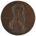 Sir John Cheke, after a medal attributed to Lodovico Leoni - NPG 1988