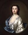 Susannah Maria Cibber (née Arne), by Thomas Hudson - NPG 4526