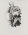 Sir Caspar Purdon Clarke, by Harry Furniss - NPG 3441