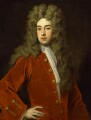Richard Temple, 1st Viscount Cobham, by Sir Godfrey Kneller, Bt - NPG 3198