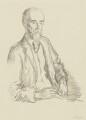 Sir Sidney Colvin, by Sir William Rothenstein - NPG 3999