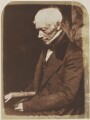 George Combe, by David Octavius Hill, and  Robert Adamson - NPG P6(87)