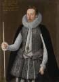 Sir Charles Cornwallis, by Robert Peake the Elder, and  studio of Robert Peake the Elder - NPG 4867
