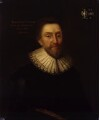 Sir Robert Bruce Cotton, 1st Bt, after Cornelius Johnson - NPG 534