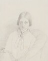 Dinah Maria Craik (née Mulock), by Amelia Robertson Hill (née Paton) - NPG 2544