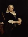 Dinah Maria Craik (née Mulock), by Sir Hubert von Herkomer - NPG 3304