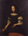 Unknown woman, formerly known as Elizabeth Cromwell (née Steward), by S.J. Dügy - NPG 1771