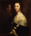 Unknown man and woman, formerly known as Oliver Cromwell and his daughter, by Unknown artist - NPG 982g