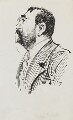 Will Crooks, by Harry Furniss - NPG 3561