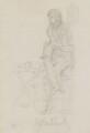George Cruikshank, by Daniel Maclise - NPG 5170