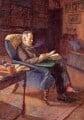 Sir George Howard Darwin, by Gwen Raverat - NPG 2101